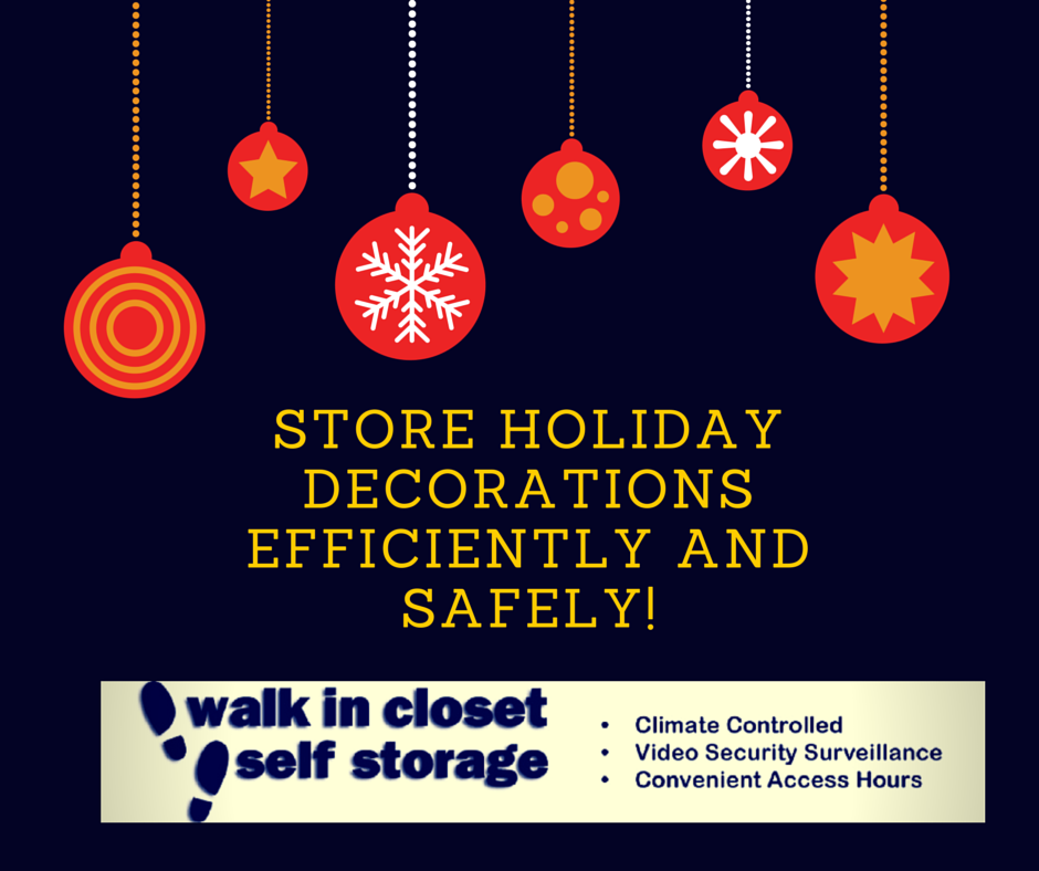 Store Holiday Decorations Efficiently