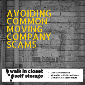 Avoiding Common Moving Company Scams