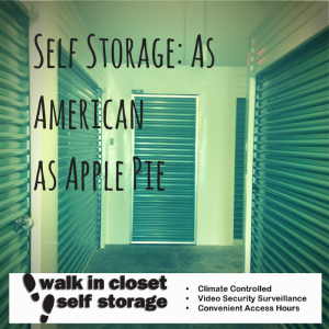Self Storage as American as Apple Pie