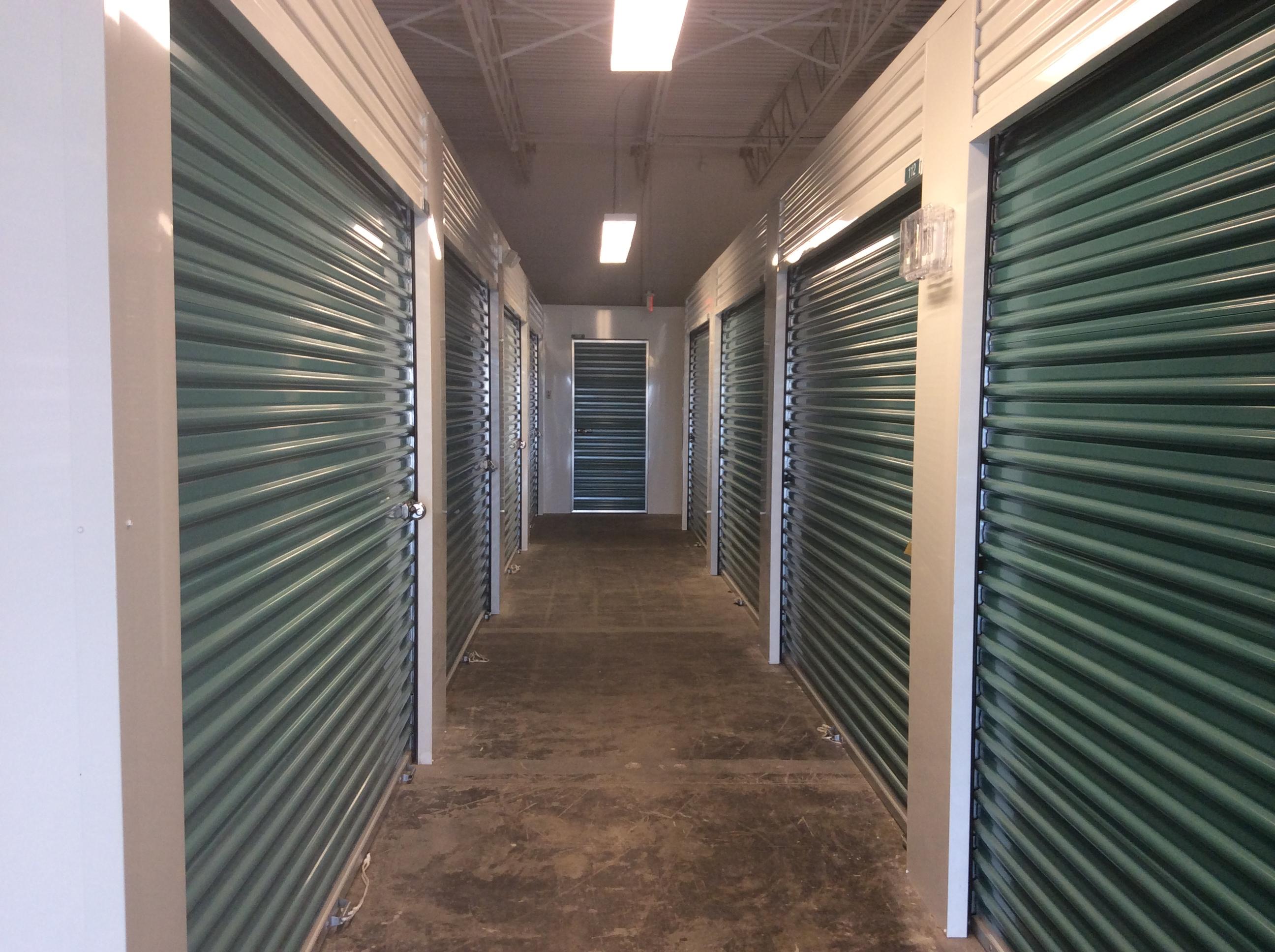Interior pictures of walk in closet self storage in randolph for Walk in storage closet